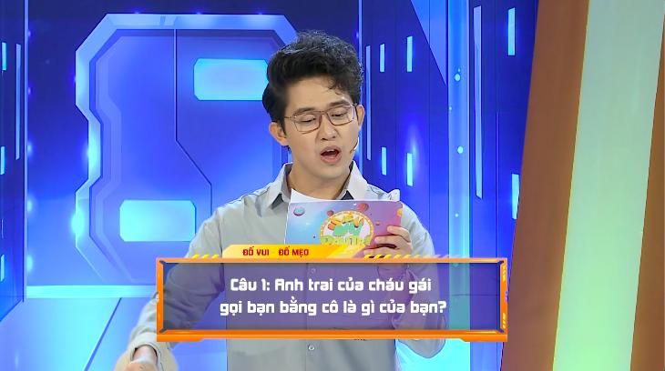 Hoàng Mèo chơi xỏ Khánh Ngọc tại Siêu nhí đấu trí - ảnh 4