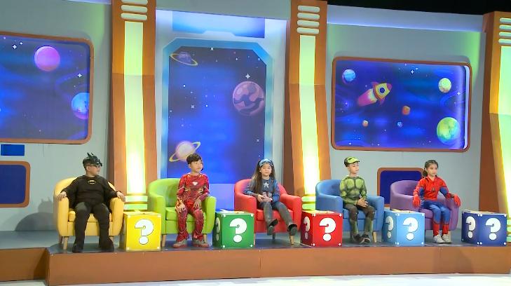 Hoàng Mèo chơi xỏ Khánh Ngọc tại Siêu nhí đấu trí - ảnh 6
