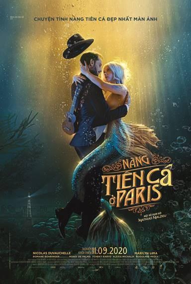 Đắm say ảo mộng chuyện tình của Nàng tiên cá ở Paris - ảnh 2