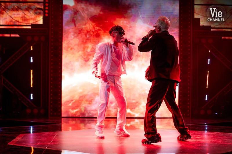 Dế Choắt thẳng tiến vào vòng 2 Rap Việt - ảnh 11