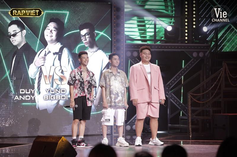 Rap Việt tiếp tục với trận đấu ba của team Karik   - ảnh 4