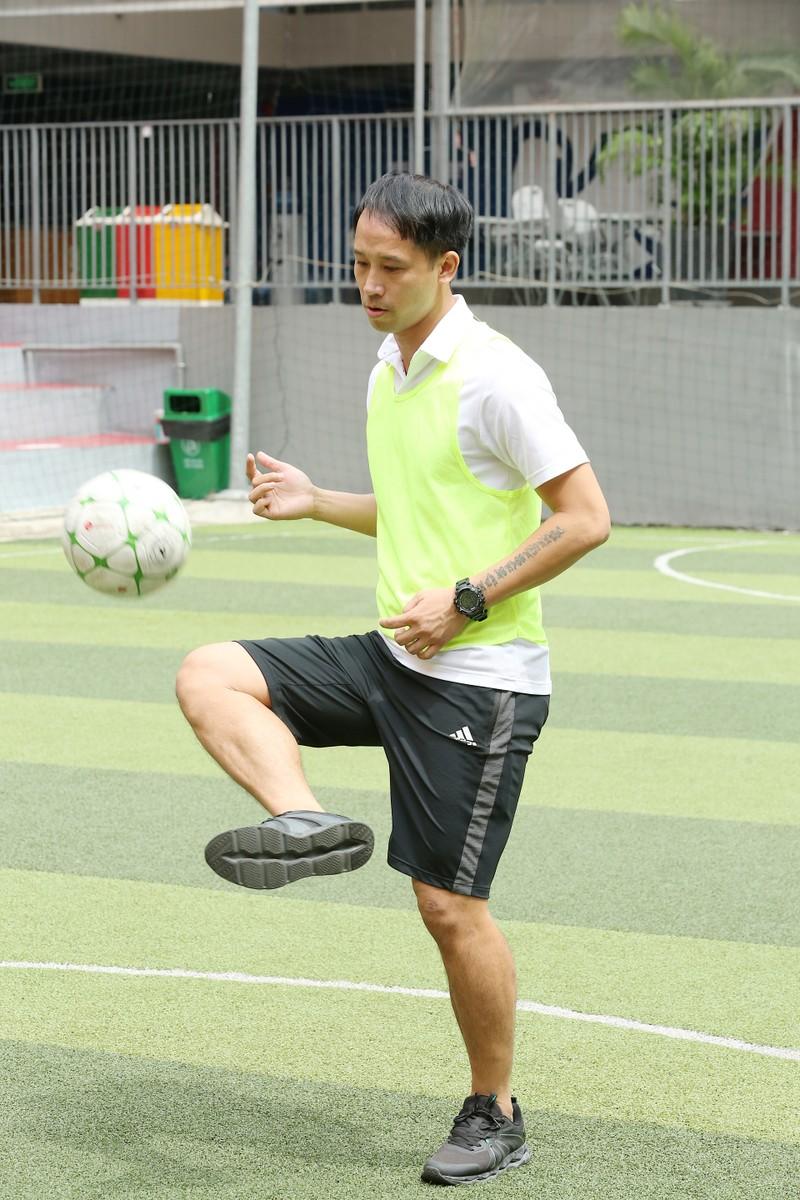3 huyền thoại bóng đá Việt Nam hội ngộ tại Cầu thủ nhí 2020 - ảnh 3