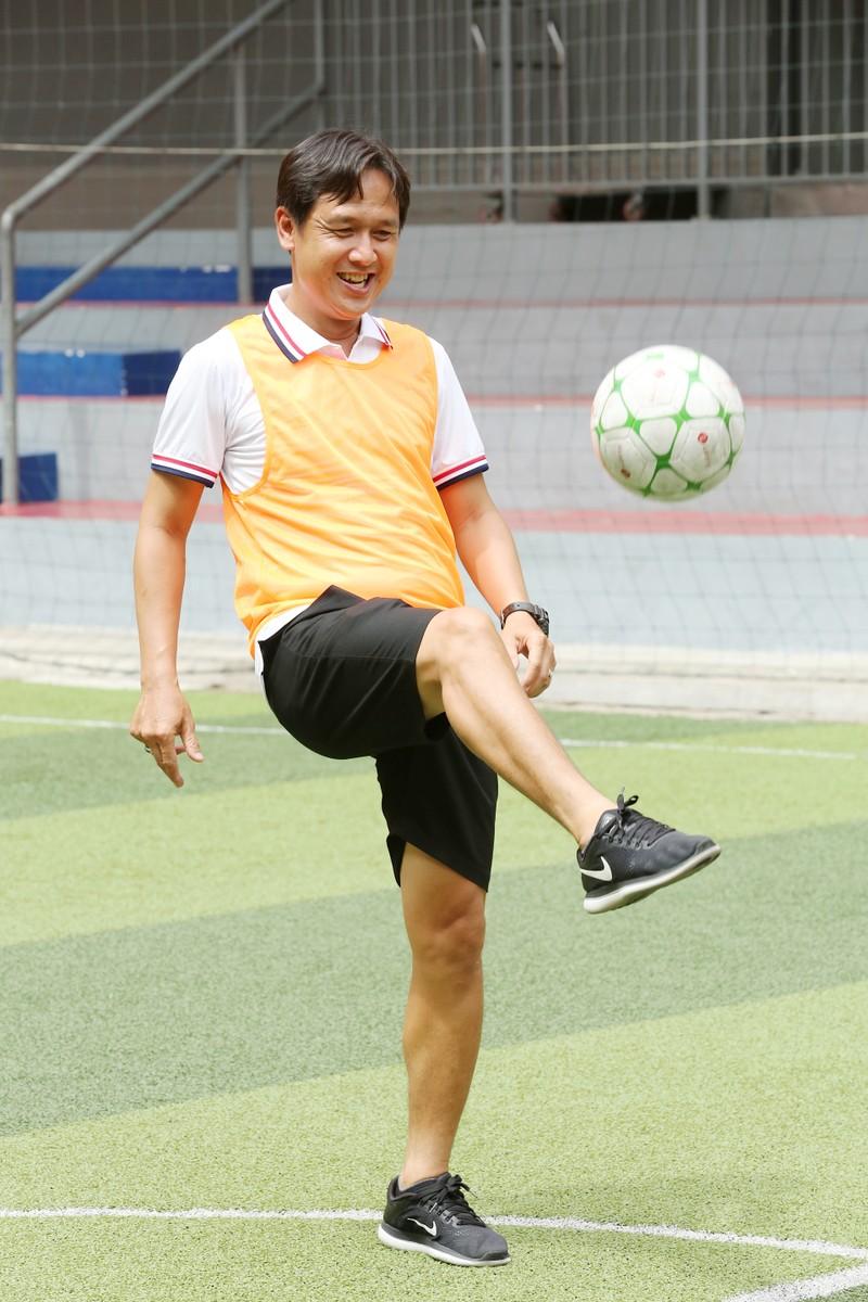 3 huyền thoại bóng đá Việt Nam hội ngộ tại Cầu thủ nhí 2020 - ảnh 4