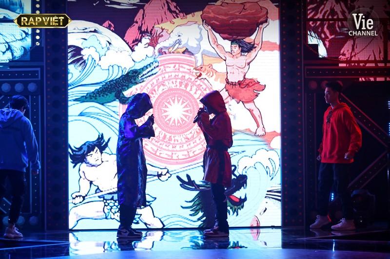 Ricky Star đọ sức cùng R.Tee tại Rap Việt - ảnh 1