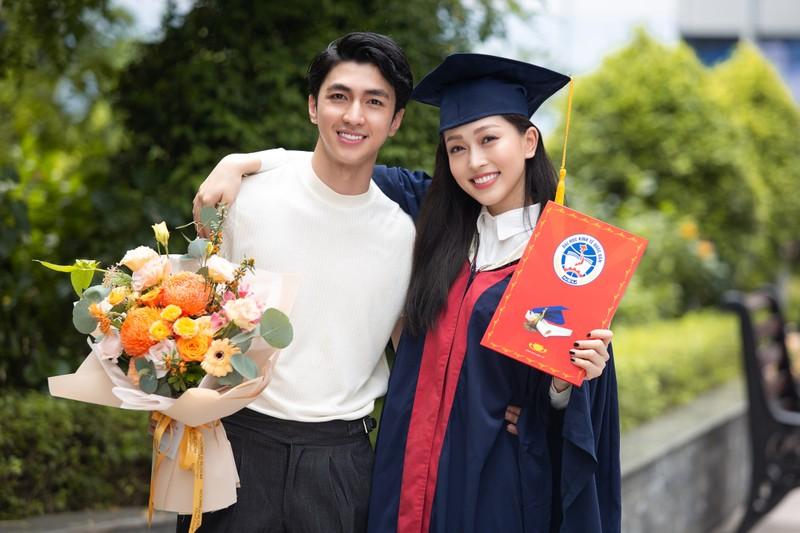 Á hậu Phương Nga tốt nghiệp đại học Kinh tế Quốc dân - ảnh 1