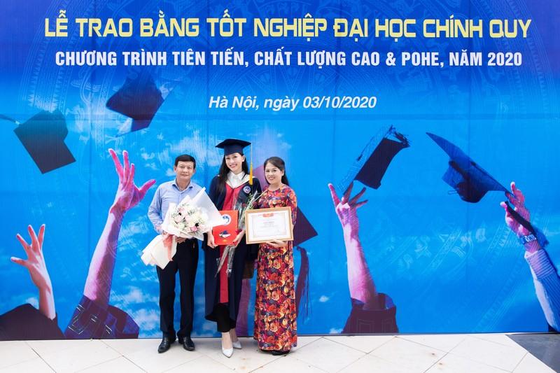 Á hậu Phương Nga tốt nghiệp đại học Kinh tế Quốc dân - ảnh 3