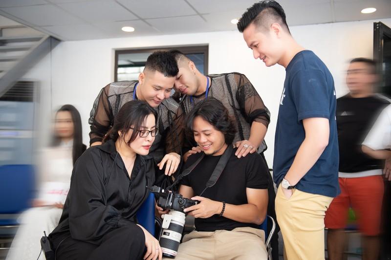 Quân Nguyễn và Pu Lê trở thành ê-kíp make-up Hoa hậu Việt Nam - ảnh 2