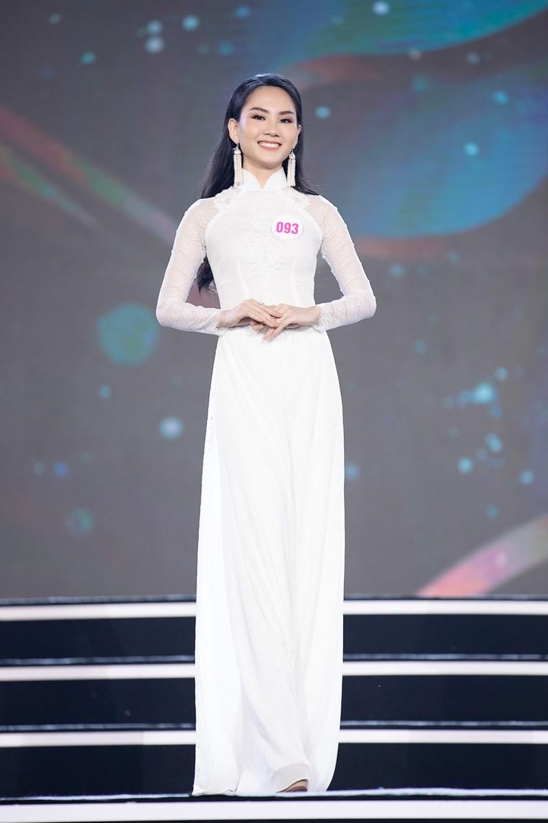 Ngắm Áo dài trong đêm Bán kết Hoa hậu Việt Nam 2020 - ảnh 10