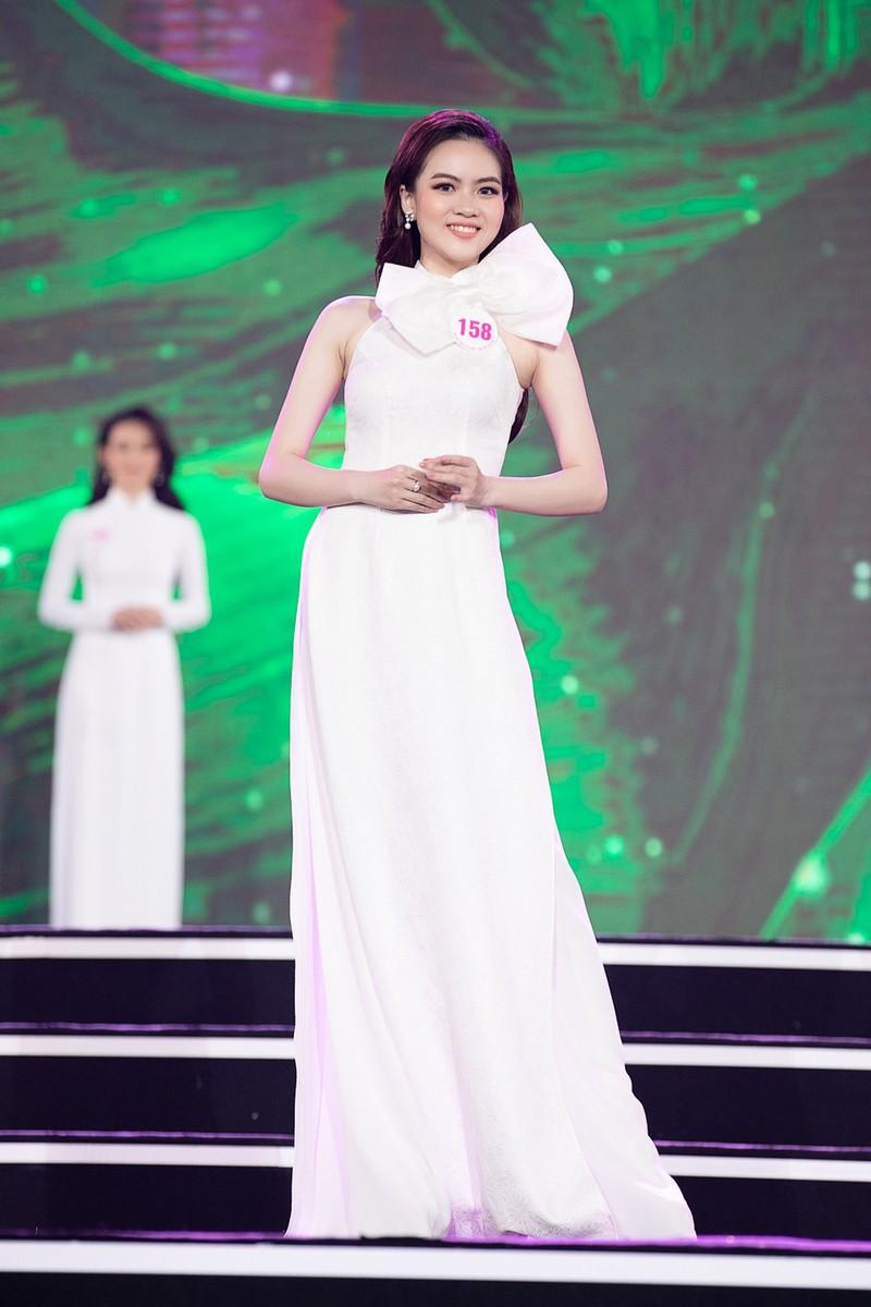 Ngắm Áo dài trong đêm Bán kết Hoa hậu Việt Nam 2020 - ảnh 3