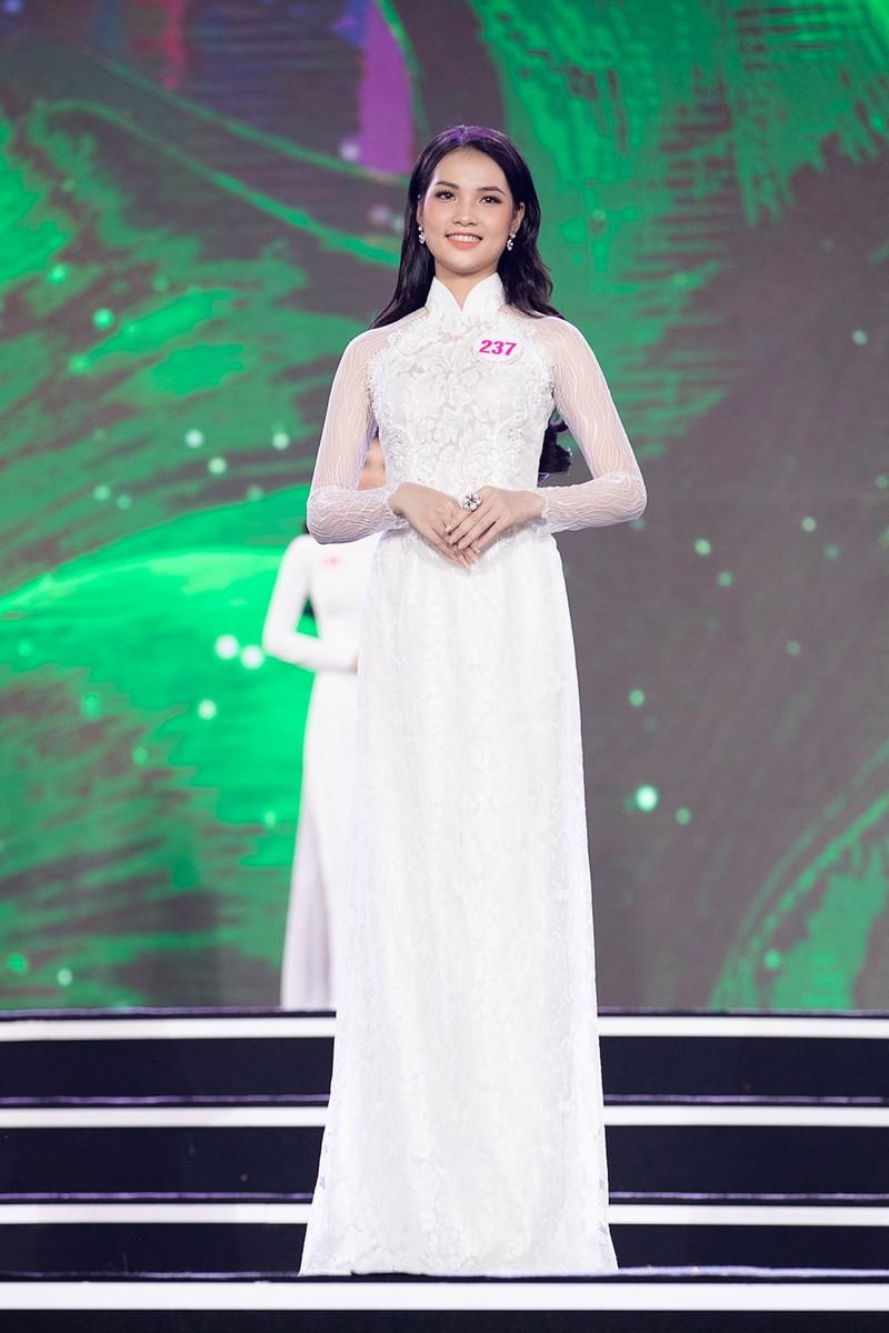 Ngắm Áo dài trong đêm Bán kết Hoa hậu Việt Nam 2020 - ảnh 5