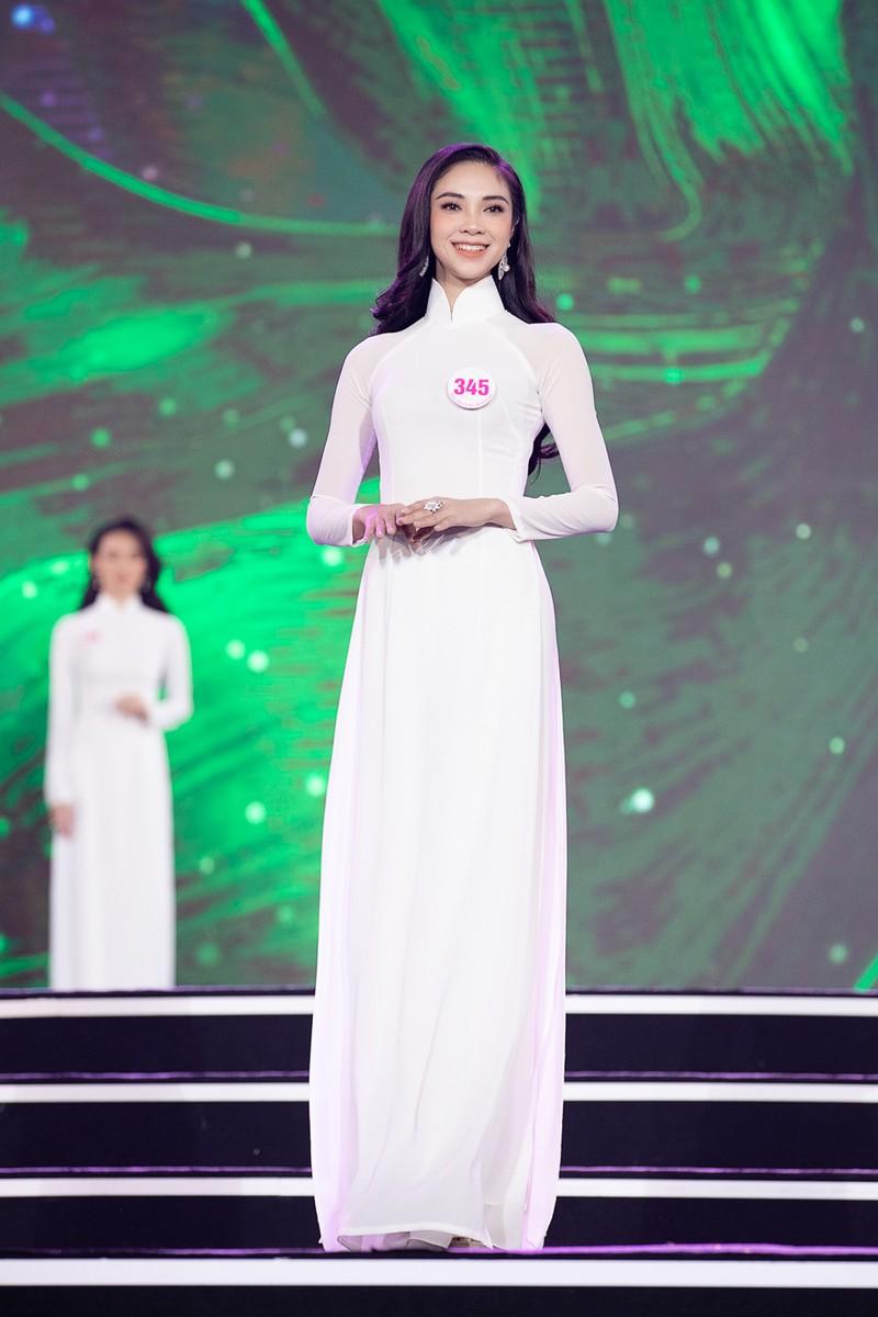 Ngắm Áo dài trong đêm Bán kết Hoa hậu Việt Nam 2020 - ảnh 8