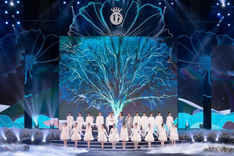 Ngắm Áo dài trong đêm Bán kết Hoa hậu Việt Nam 2020 - ảnh 2