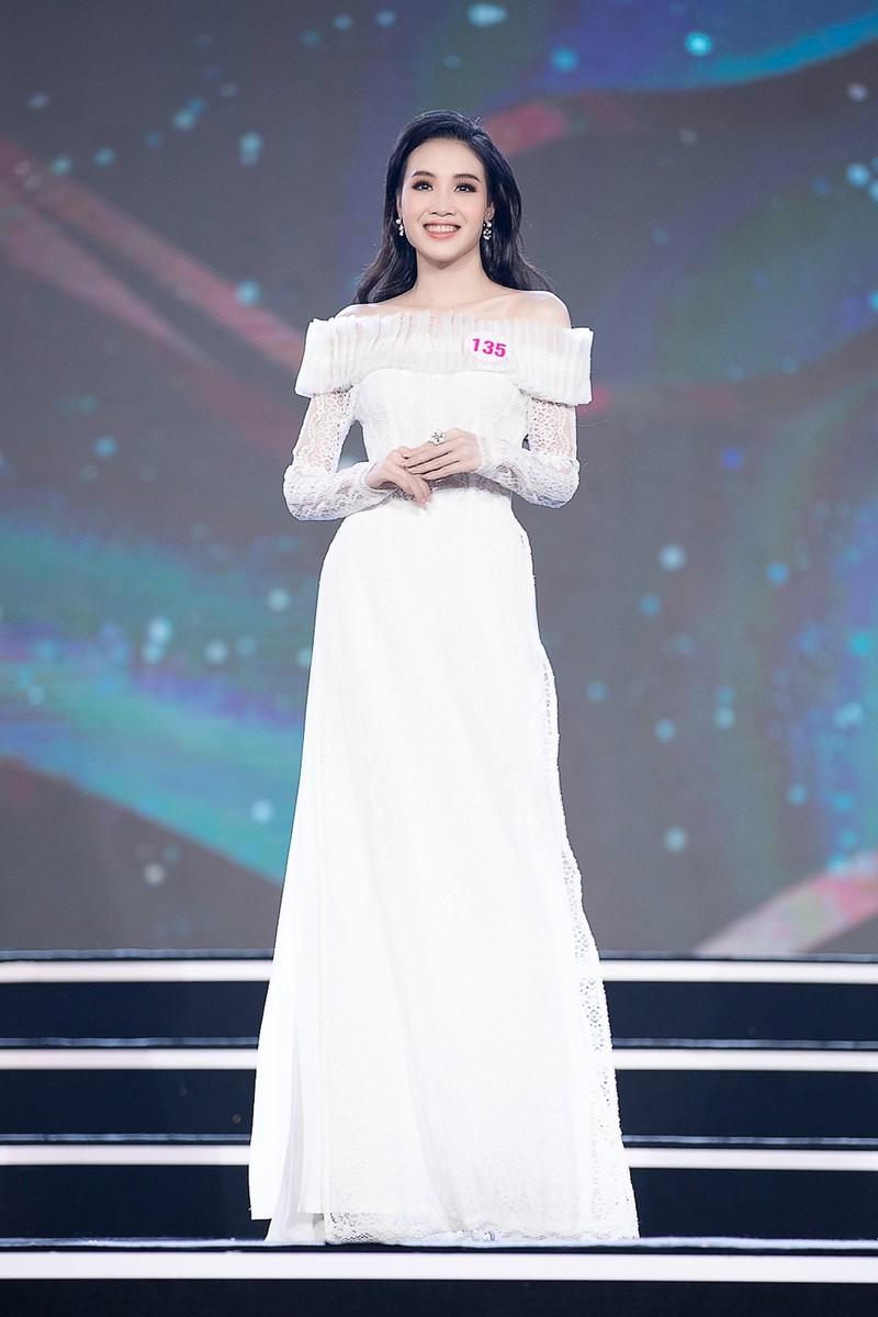 Ngắm Áo dài trong đêm Bán kết Hoa hậu Việt Nam 2020 - ảnh 14