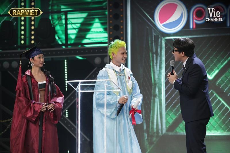 Dế Choắt giành chiến thắng ngoạn mục vào chung kết Rap Việt - ảnh 10