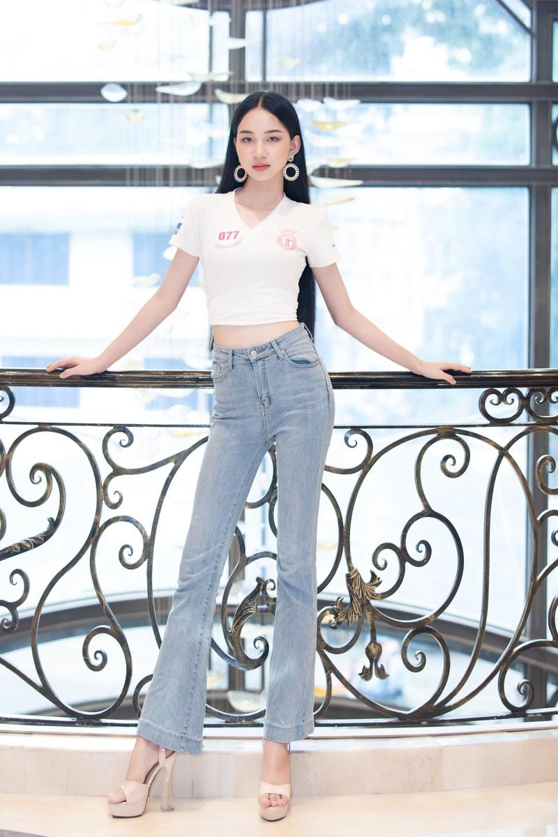 35 thí sinh Hoa hậu Việt Nam hội tụ tại Vũng Tàu - ảnh 7