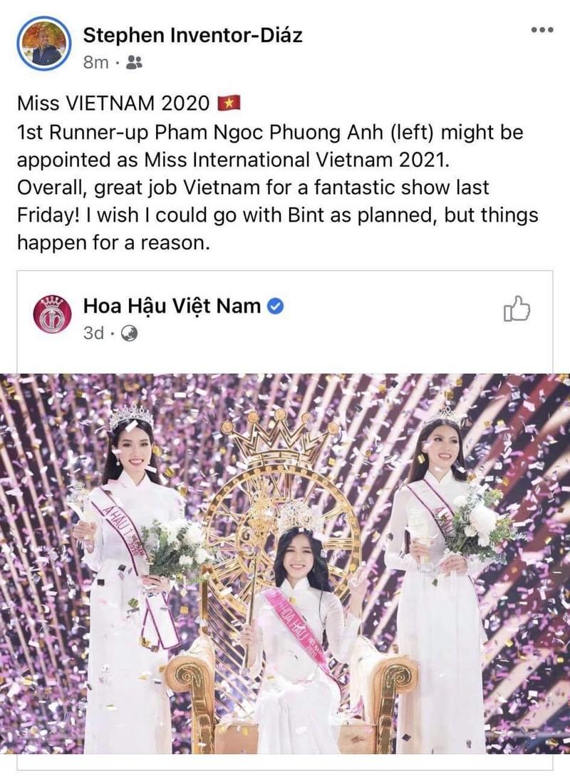 Á hậu 1 Phương Anh sẽ chinh chiến Miss International  - ảnh 3