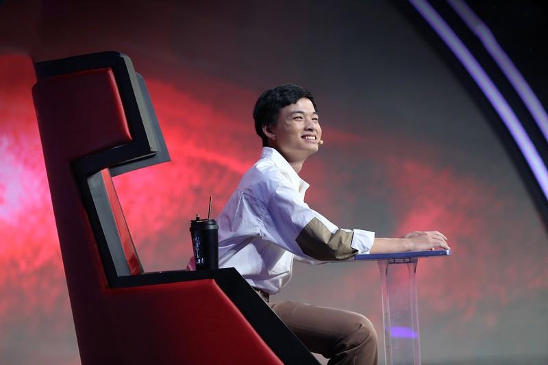 Rhymastic thu mình trước giám khảo gạo Siêu trí tuệ Việt Nam - ảnh 4