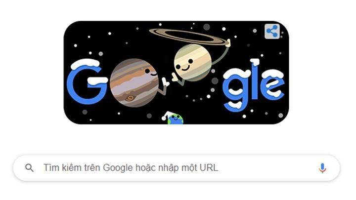 Google doodle hôm nay: Hành tinh đôi Đông chí - ảnh 1