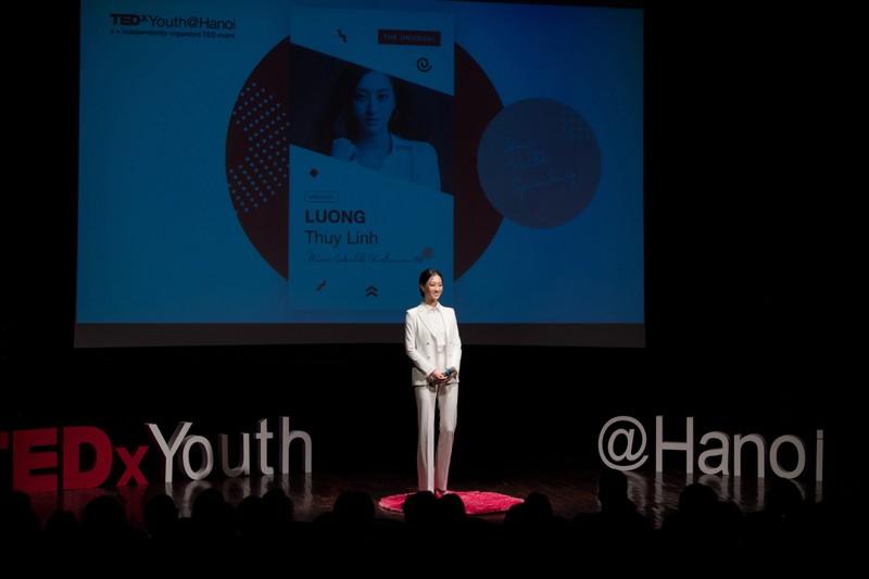Lương Thuỳ Linh làm diễn giả bằng tiếng Anh - ảnh 3