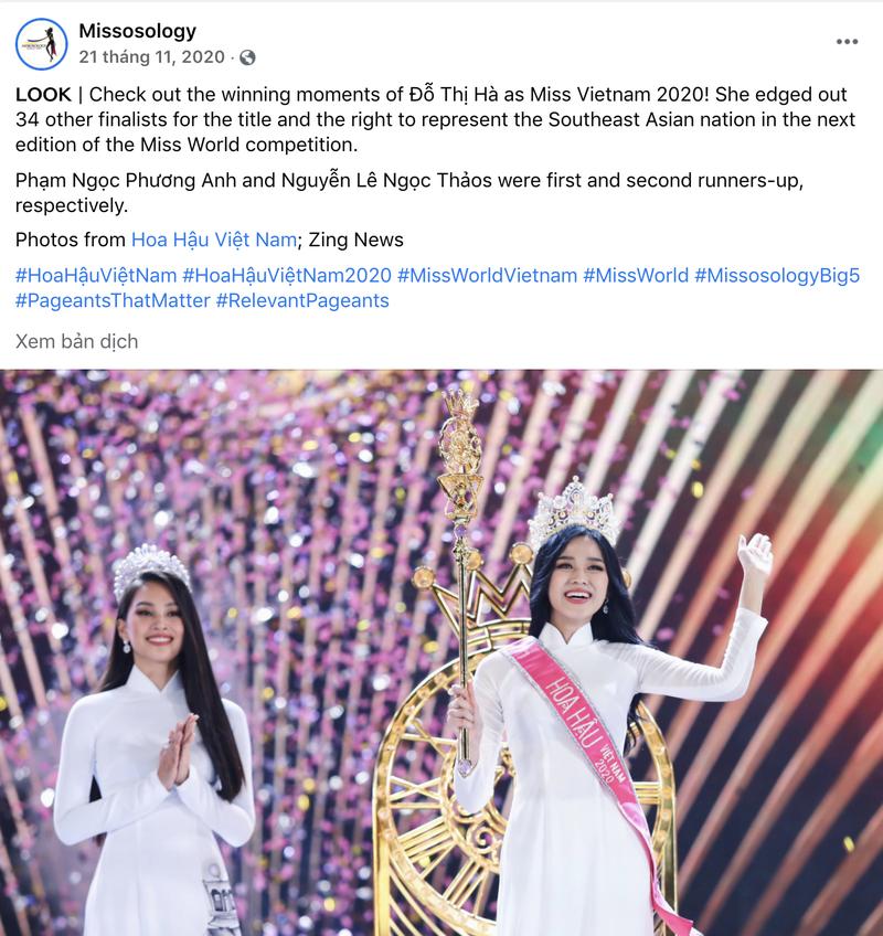 Đỗ Hà được dự đoán lọt tốp 10 Miss World 2021 - ảnh 1