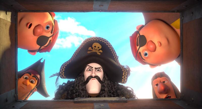 Chuyến hải trình hài hước của Thuyền trưởng Răng Kiếm - ảnh 2