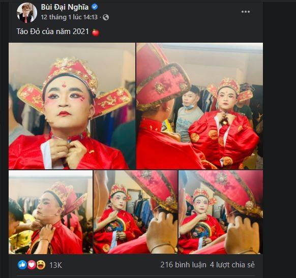 Vĩnh Thụy cực đắt slot chụp hình cùng nghệ sĩ tại Táo Xuân  - ảnh 1