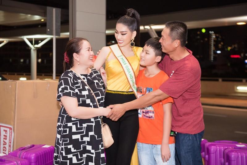 Ngọc Thảo chính thức lên đường dự thi Miss Grand International - ảnh 2