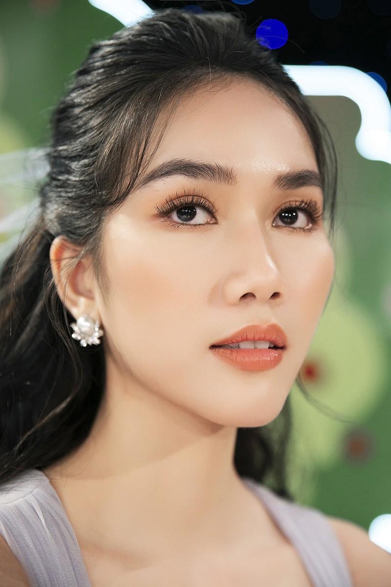 Á hậu Phương Anh khoe nhan sắc ngọt ngào tại 'Siêu mẫu nhí' - ảnh 3