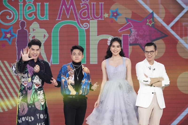 Á hậu Phương Anh khoe nhan sắc ngọt ngào tại 'Siêu mẫu nhí' - ảnh 4