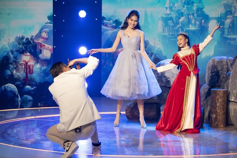 Á hậu Phương Anh khoe nhan sắc ngọt ngào tại 'Siêu mẫu nhí' - ảnh 5
