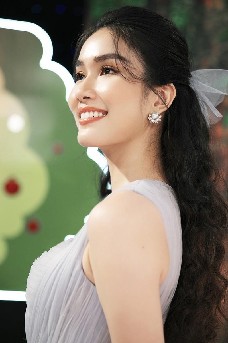 Á hậu Phương Anh khoe nhan sắc ngọt ngào tại 'Siêu mẫu nhí' - ảnh 1