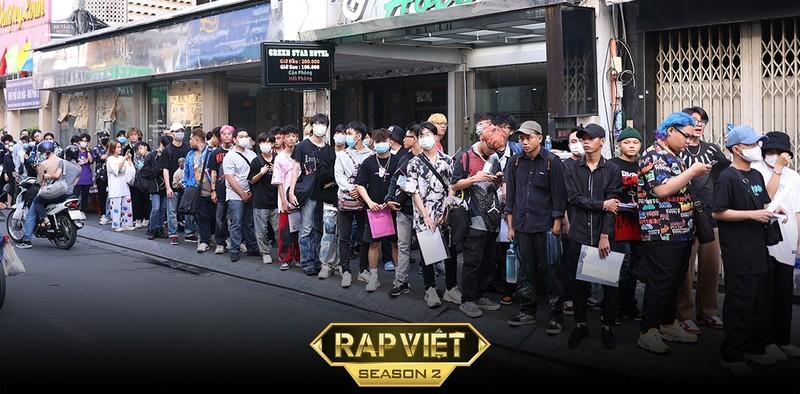 Cạnh tranh khốc liệt ngay ngày đầu casting Rap Việt mùa 2 | Xem-nghe-đọc |  PLO