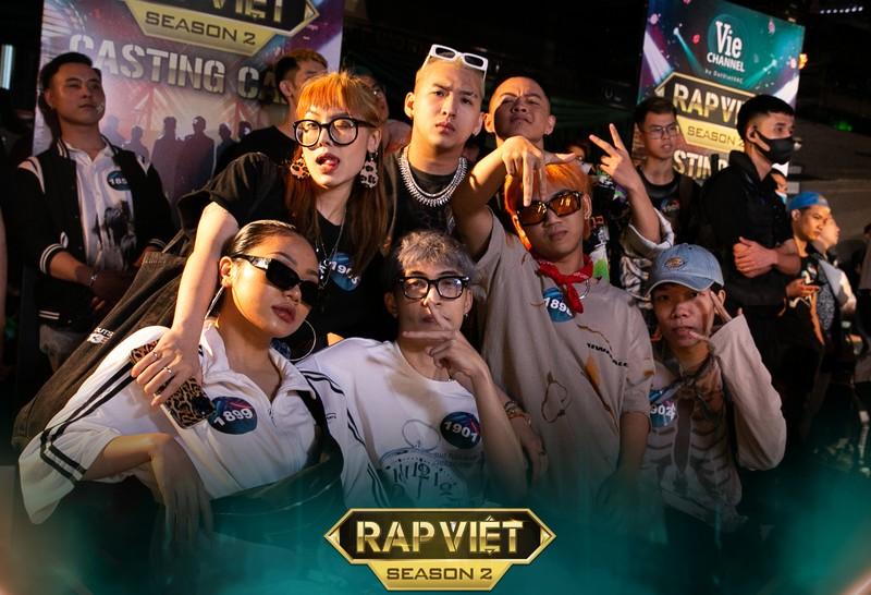 Ngày đầu casting Rap Việt ở miền Bắc thu hút hơn ngàn thí sinh - ảnh 3