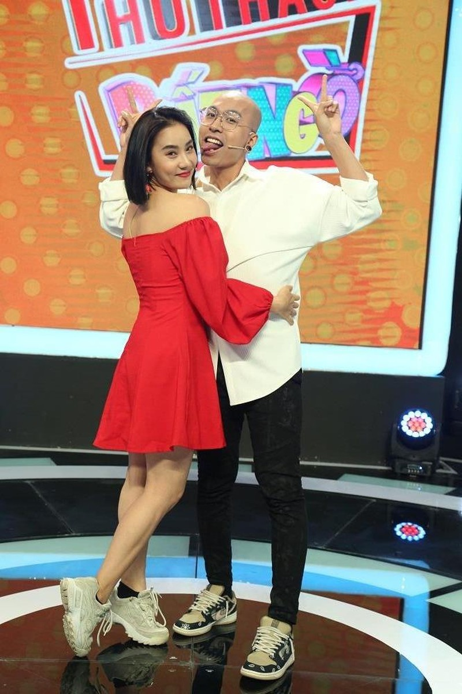 Phạm Lịch xuất hiện cùng chồng chưa cưới trong gameshow - ảnh 3