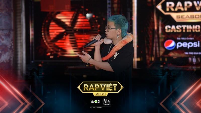 Tài bắn rap tiếng Anh của Mai Ngô tại vòng casting Rap Việt mùa 2 - ảnh 3