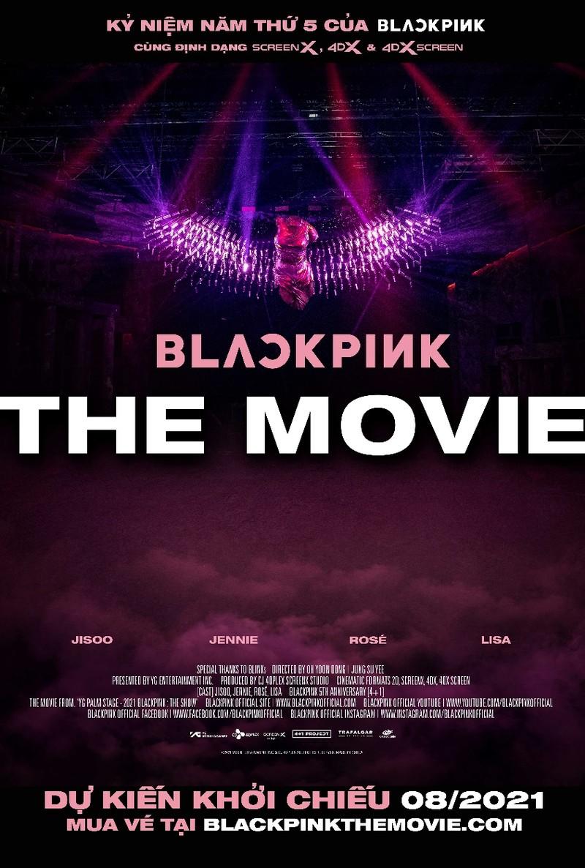 Nhóm nhạc Blackpink lên phim sẽ ra mắt ở Việt Nam  - ảnh 1