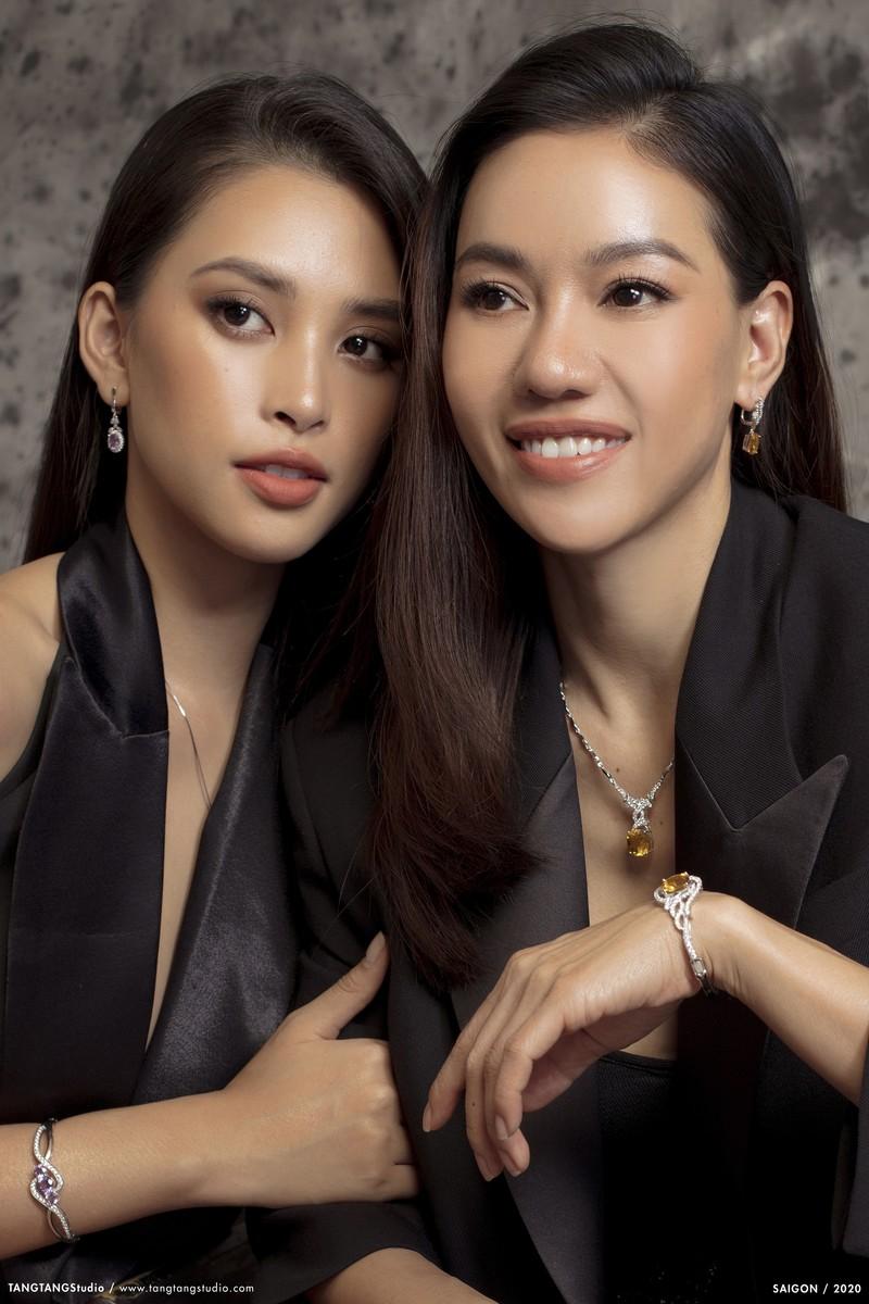 Bà Phạm Kim Dung tiết lộ  phải canh chừng sợ Tiểu Vy quên đi thi Hoa hậu - ảnh 1