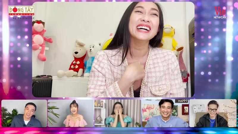 Ca sĩ Khánh Ngọc bất ngờ lộ diện tại Ca sĩ bí ẩn - ảnh 3