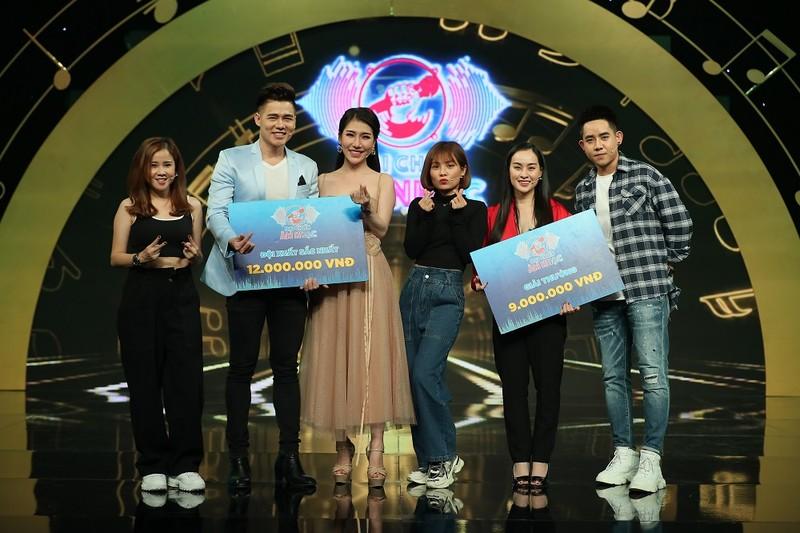 Đinh Kiến Phong bị cua kẹp khi chơi game show 'Đại chiến âm nhạc' - ảnh 5