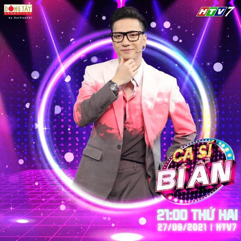 Chế Nguyễn Quỳnh Châu cực xinh đẹp khi ghi hình online 'Ca sĩ bí ẩn' - ảnh 3