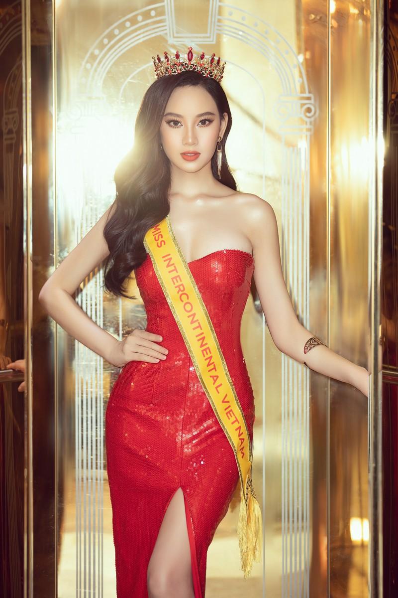 Trần Hoàng Ái Nhi sẽ dự thi 'Miss Intercontinental 2021' - ảnh 1