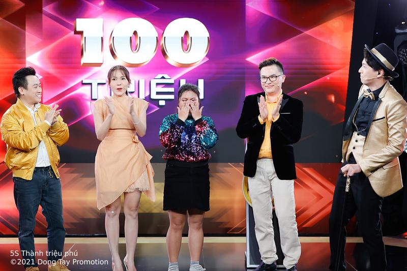 Ngọc Hoa xuất sắc 'ẵm' 100 triệu đồng tại 5 giây thành triệu phú - ảnh 3