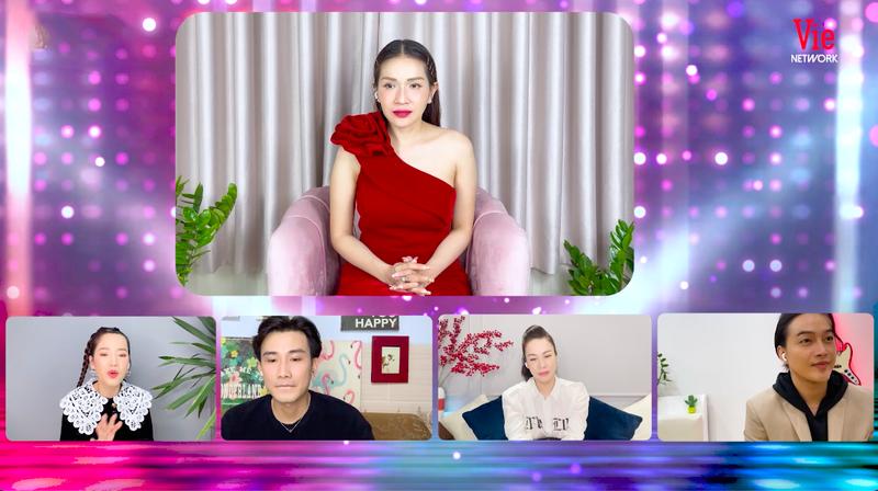 Chí Thiện, Nhật Kim Anh trầm trồ vì 'Ca sĩ bí ẩn' đầu tư vũ đoàn online cực xịn - ảnh 4