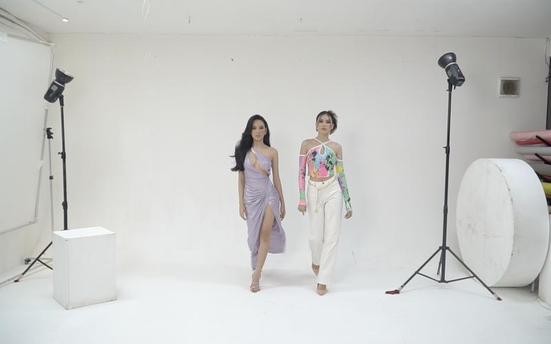 Ngọc Thảo chia sẻ kinh nghiệm Catwalk trên sàn quốc tế cho Ái Nhi  - ảnh 4