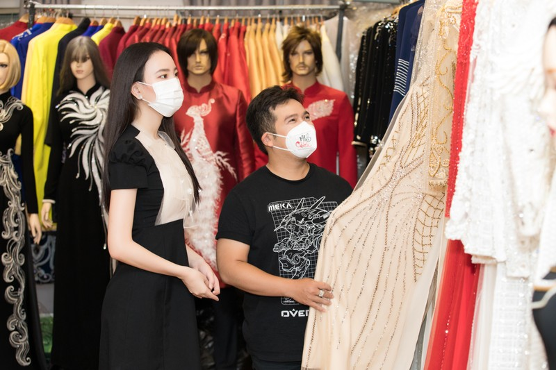 Ngọc Thảo chia sẻ kinh nghiệm Catwalk trên sàn quốc tế cho Ái Nhi  - ảnh 2