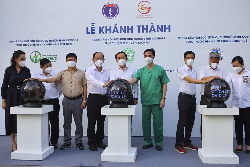 Khánh thành 3 trung tâm hồi sức tích cực giúp TP.HCM chống dịch - ảnh 5