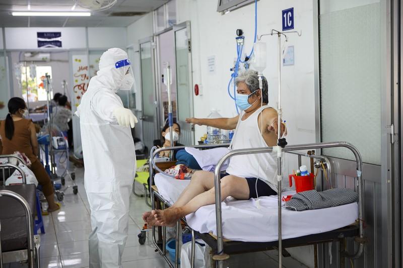 Lớp học phục hồi chức năng cho bệnh nhân tổn thương do COVID-19 - ảnh 8