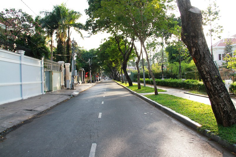 Phố Sài Gòn lãng mạn ngày đầu năm - ảnh 17