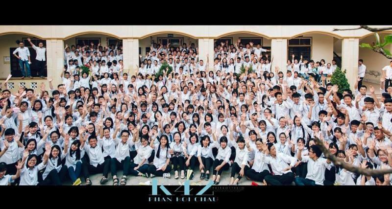 Bộ ảnh kỷ yếu cực chất của học sinh Trường Phan Bội Châu - ảnh 11