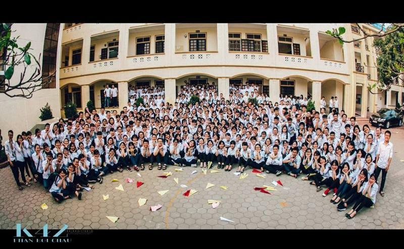 Bộ ảnh kỷ yếu cực chất của học sinh Trường Phan Bội Châu - ảnh 14